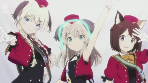 L'anime Luminous Witches du studio Shaft, en Annonce Vidéo
