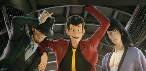 Le Bluray du film animation Lupin III The First, daté au Japon