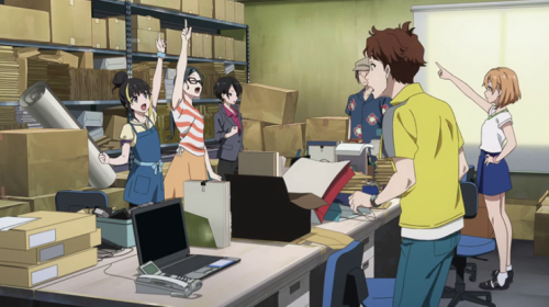 Le film animation Shirobako, en Trailer 2
