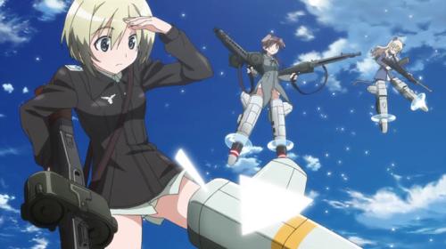 L'anime Strike Witches: Road to Berlin, en Teaser Vidéo