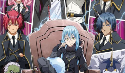 L'anime Tensei Shitara Slime Datta Ken Saison 2, en Visual Art