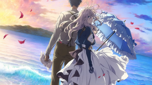 Le film animation Violet Evergarden the Movie, en Visual Art 2