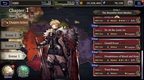 Le jeu War of the Visions: Final Fantasy Brave Exvius, en Gameplay Vidéo