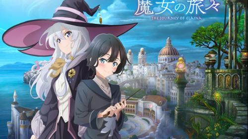 L'anime Majo no Tabitabi, en Affiche Teaser