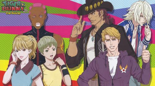 L'anime Tiger & Bunny Saison 2, annoncé