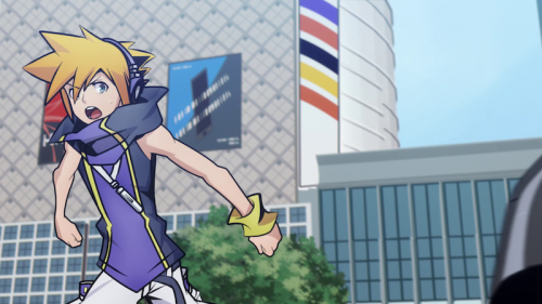 L'anime The World Ends with You, en Extrait Vidéo