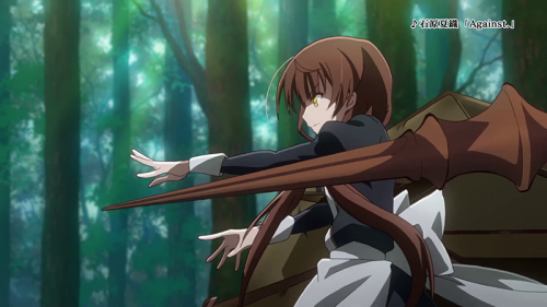 L'anime Kimi to Boku no Saigo no Senjou, en Character Vidéo (Jhin & Rin)