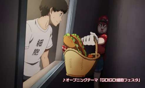 L'anime Hataraku Saibou Saison 2, en Promotion Vidéo 2
