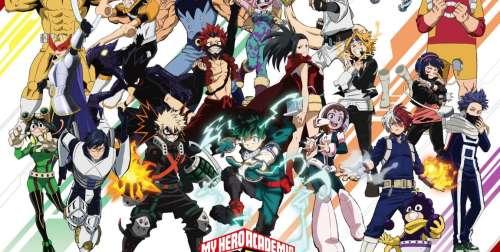 L'anime My Hero Academia Saison 5, en Visual Art