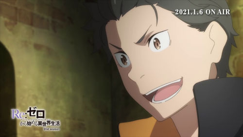 L'anime Re:Zero Saison 2 Part.2, en Promotion Vidéo 2