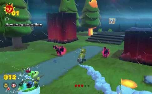 Le jeu Super Mario 3D World + Bowser's Fury, en Gameplay Vidéo