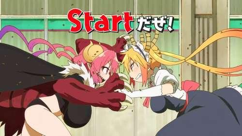 L'anime Kobayashi-san Chi no Maid Dragon Saison 2, en Promotion Vidéo