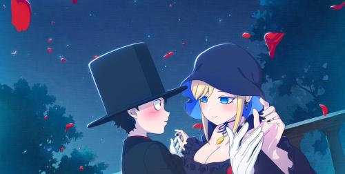 Le manga Shinigami Bocchan to Kuro Maid adapté en anime