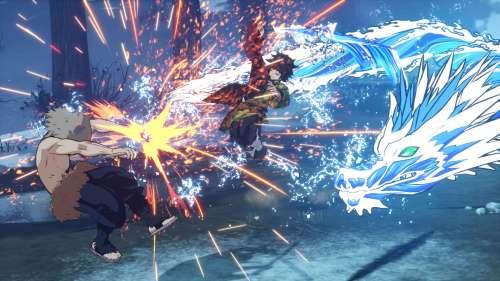 Le jeu Kimetsu no Yaiba: Hinokami, en Character Vidéo 3 (Giyu Tomioka)