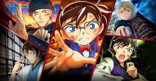 Le film animation Detective Conan : Hiiro no Dangan, en Trailer 2