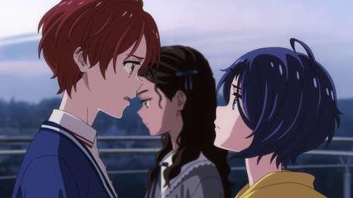 La conclusion de l'anime Wonder Egg Priority, datée au Japon