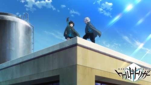 L'anime World Trigger Saison 3, daté au Japon