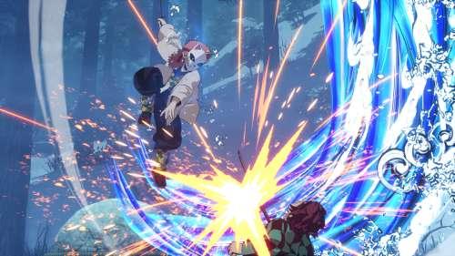 Le jeu Kimetsu no Yaiba: Hinokami, en Character Vidéo 5 (Sabito & Makomo)