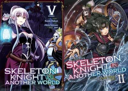 Le roman Skeleton Knight in Another World adapté en anime