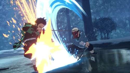 Le jeu Kimetsu no Yaiba: Hinokami, en Character Vidéo 4 (Sakonji Urokodaki)