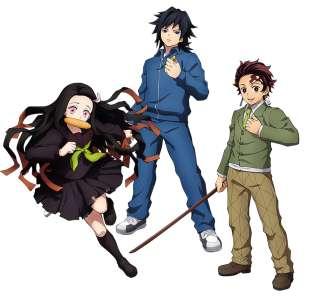 Le jeu Kimetsu no Yaiba: Hinokami, en Character Vidéo 9 (Kimetsu Gakuen)