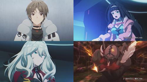 L'anime Deep Insanity: The Lost Child, en Promotion Vidéo