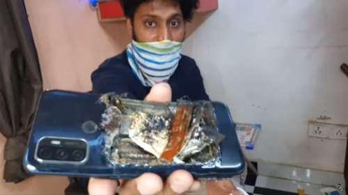 Un smartphone Oppo explose dans la poche de son propriétaire