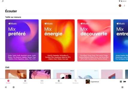 Apple Music : Audio spatial et lossless débarquent sur Android