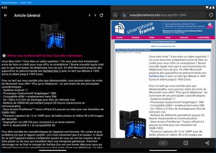 Testez la Microsoft Surface Duo 2 sans vous ruiner