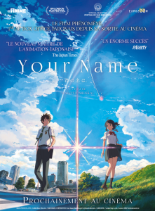 Le film your name. disponible arrivera sur Netflix le 1er juin