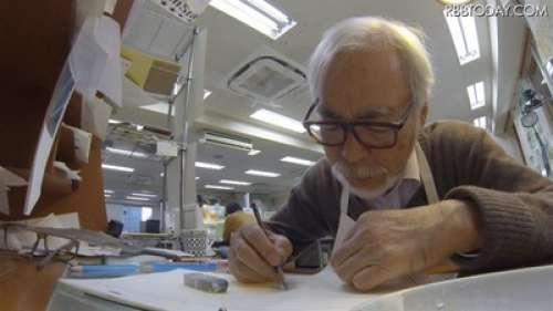 Dybex va proposer le Blu-ray du documentaire Never Ending Man Hayao Miyazaki