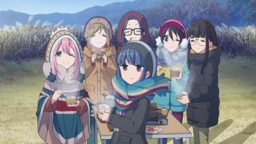 Trailer pour la saison 2 de Yuru Camp Laid-Back Camp