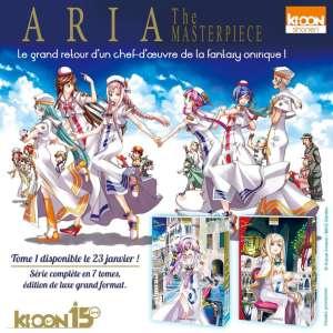 Un nouvel anime pour fêter les 15 ans de Aria