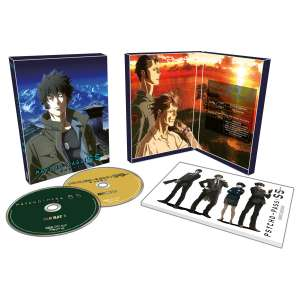 Kana montre ses coffrets Blu-ray / DVD des films Psycho-Pass : Sinners of the System