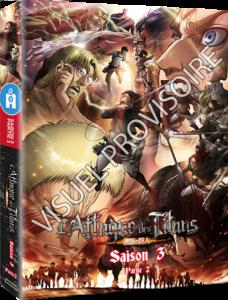 All the Anime dévoile ses coffrets Blu-ray / DVD L'Attaque des Titans Saison 3 (Partie 2)