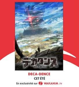 L'anime DECA-DENCE (Yuzuru Tachikawa X Studio NuT) chez Wakanim cet été