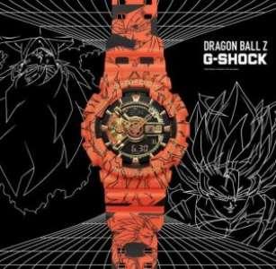 Des montres DBZ et One Piece chez Casio