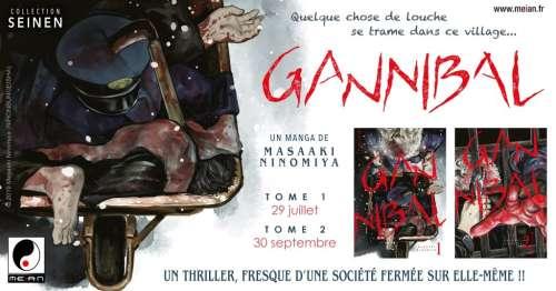 Le thriller Gannibal annoncé chez Meian