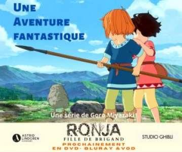 La série Ronja – Fille de Brigand arrive en VOD, DVD et Blu ray