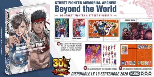L'artbook Street Fighter Beyond The World chez KuroPop