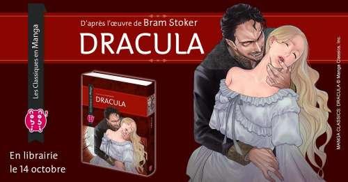 Le manga Dracula aux éditions nobi nobi!