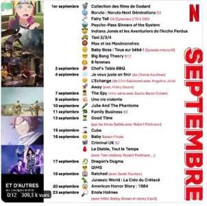 Netflix : la liste des anime de septembre (en plus de la saison 3 d'Aggretsuko et l'intégral d'Avatar)