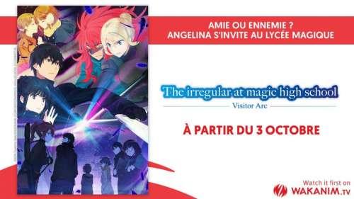 L'anime The Irregular at Magic High School le 3 octobre sur Wakanim