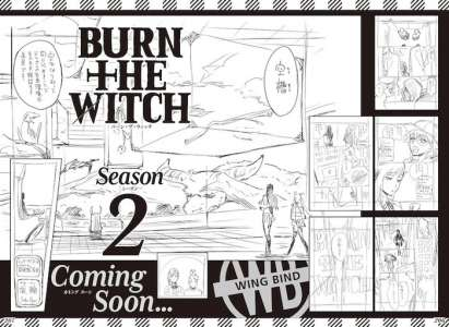 Manga : La « saison 2 » du manga Burn the Witch se dévoile