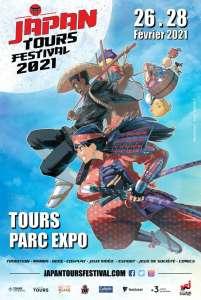 Affiche et date pour le festival Japan Tours 2021