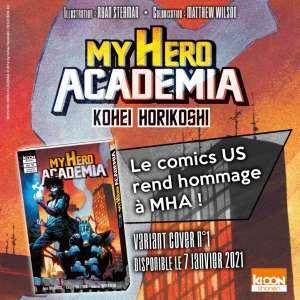 MHA vol. 27 : une variant cover signée Ryan Stegman (en attendant le collector !)