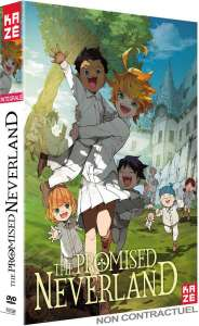 Kazé détaille son coffret Blu ray / DVD de The Promised Neverland