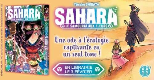 Le one-shot Sahara -Le Samurai au fleurs- chez nobi nobi! en février 2021