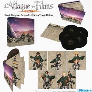 L'Édition Vinyle Deluxe de L'Attaque des Titans S2 en 2021 chez All The Anime