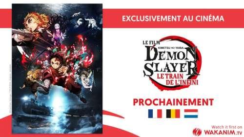 Le film évènement Demon Slayer : Le train de l'infini prochainement au cinéma en France (et en Europe)